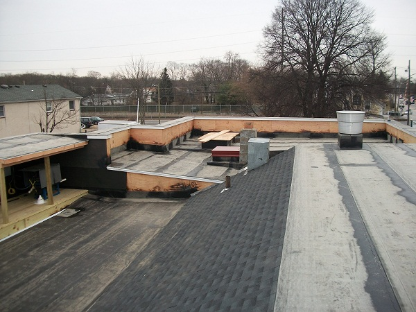 Flat Roof Installation : Flat roof installation in port jefferson ny long