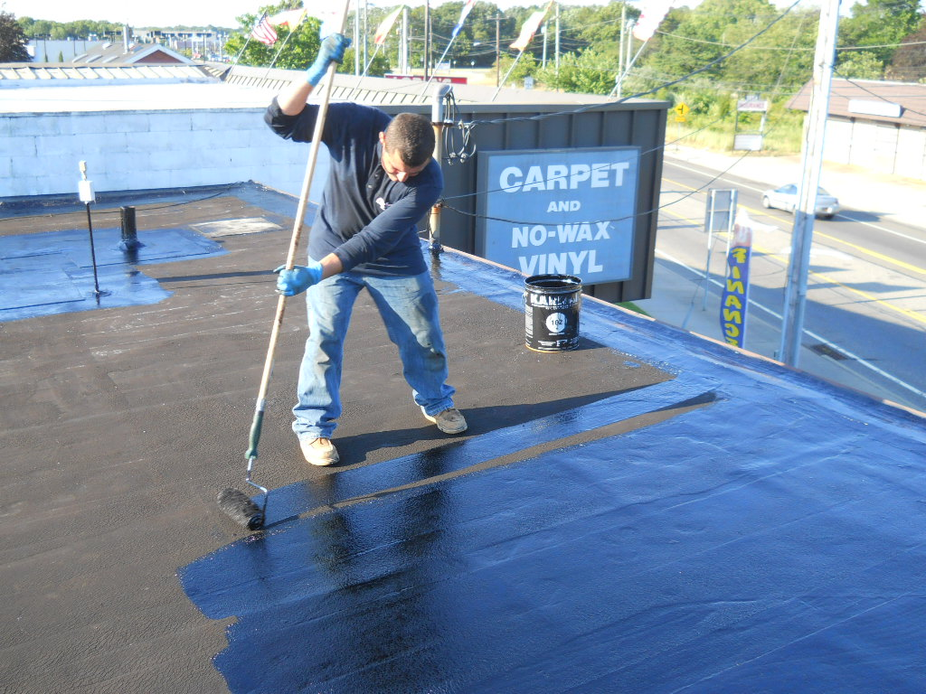 Easiest Way To Seal Epdm Flat Roof Roofing